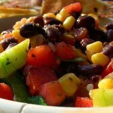 Quick and Easy Salsa With Black Beans and Corn recipe