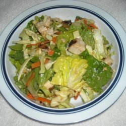 Bobby Flay's Chinese Chicken Salad W/ Red Chile Peanut Dressing recipe