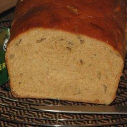100% Whole Wheat Bread (Non-Dense/Heavy, White Bread Texture) recipe
