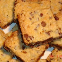 Bare Pantry Chocolate Chip Cookie Bars recipe