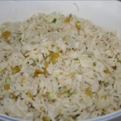 Green Chili Rice recipe
