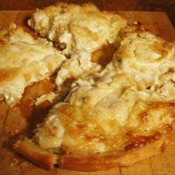 Easy Cheesy Artichoke Bread recipe