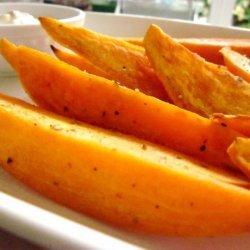 Ina Garten's Baked Sweet Potato  Fries recipe