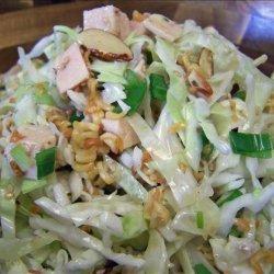 Oriental Chicken Salad with Crunchy Ramen Noodles recipe