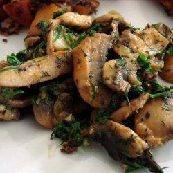 Danished Glazed Mushrooms recipe