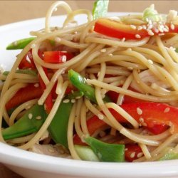 Chinese Chicken Noodle Salad recipe