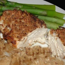 Crunchy Onion Chicken recipe