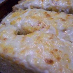 Garlic Bread with Mayo & Cheddar recipe