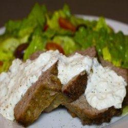 Gyro Loaf With Tsatziki Sauce recipe