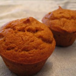 Pumpkin Raisin Muffins recipe