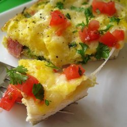 Baked Cheese Omelet recipe