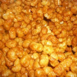 Caramel Puff Corn recipe