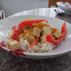 Thai Tofu and Squash Curry recipe