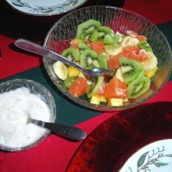 Fresh Fruit Salad Dressing recipe