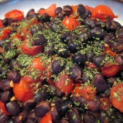 Black Beans and Tomatoes - Hot and Spicy recipe
