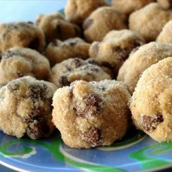 Chocolate Chip Peanut Butter Ball Cookies recipe