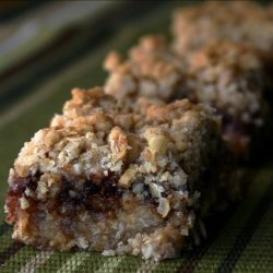 Oatmeal and Apple Butter Bars recipe