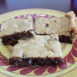 Ghirardelli Chocolate Chip Cookie Bar recipe