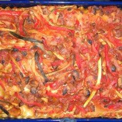 Vegan Veggie Lasagna recipe