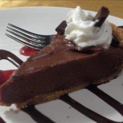 Silky Chocolate Peanut Butter Pie recipe