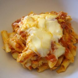 Baked Ziti from Cook's Illustrated recipe