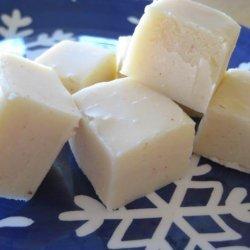 White Chocolate Eggnog Fudge recipe