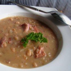 Chunky Navy Bean Soup recipe