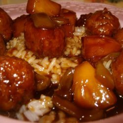 Sweet N Sour Sauce for Meatballs and Wings recipe