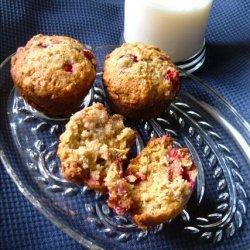 Cranberry Banana Oat Muffins recipe