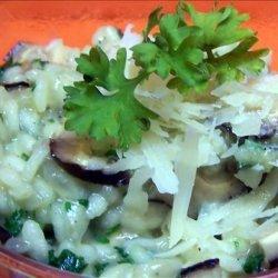 Garlic Mushroom Risotto recipe