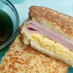 French Toast Breakfast Sandwich With Canadian Maple Syrup recipe