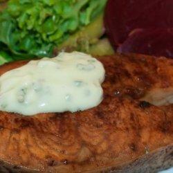 Grilled Wasabi Salmon recipe