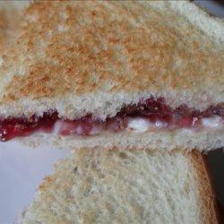 Cream Cheese and Jelly Sandwich recipe