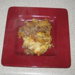 Budget Stretcher Beef and Potato Casserole recipe