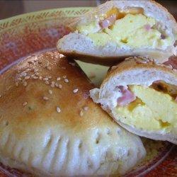 Bacon and Egg Empanadas recipe