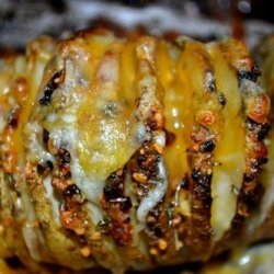 Sliced Baked Potatoes recipe