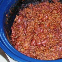Crock Pot Chili Con Carne With Beans recipe