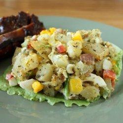 Baked Potato Salad recipe