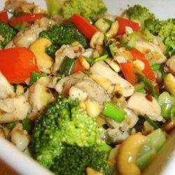 Chicken and Cashew Stir-Fry recipe