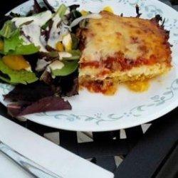 Spaghetti Squash Lasagna Casserole (Low Carb) recipe