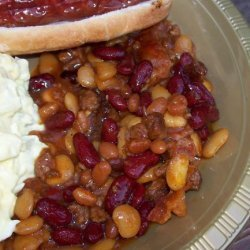 Old Settlers Baked Beans recipe