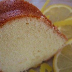 Sour Cream and Lemon Pound Cake recipe