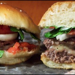 Chile Con Queso Cheeseburger recipe