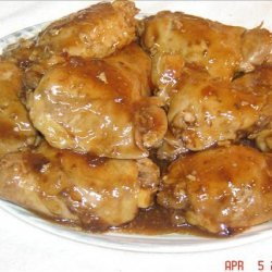 Chicken Thighs Diablo recipe