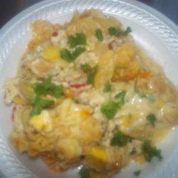 Squash Casserole (Charlotte's Barclay Cafeteria) recipe