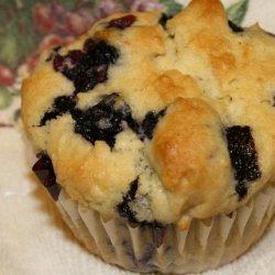 No Brainer Never-Fail Blueberry Muffins recipe