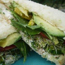 Veggies Dream Cucumber Sandwich recipe