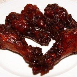 Bergy Dim Sum #10, Honey Soy Braised Chicken Wings recipe