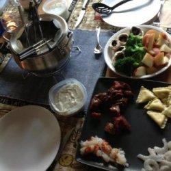 Coq Au Vin Fondue from  the Melting Pot  recipe
