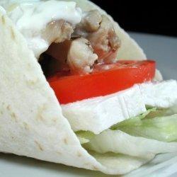 Chicken Souvlaki Wrap recipe